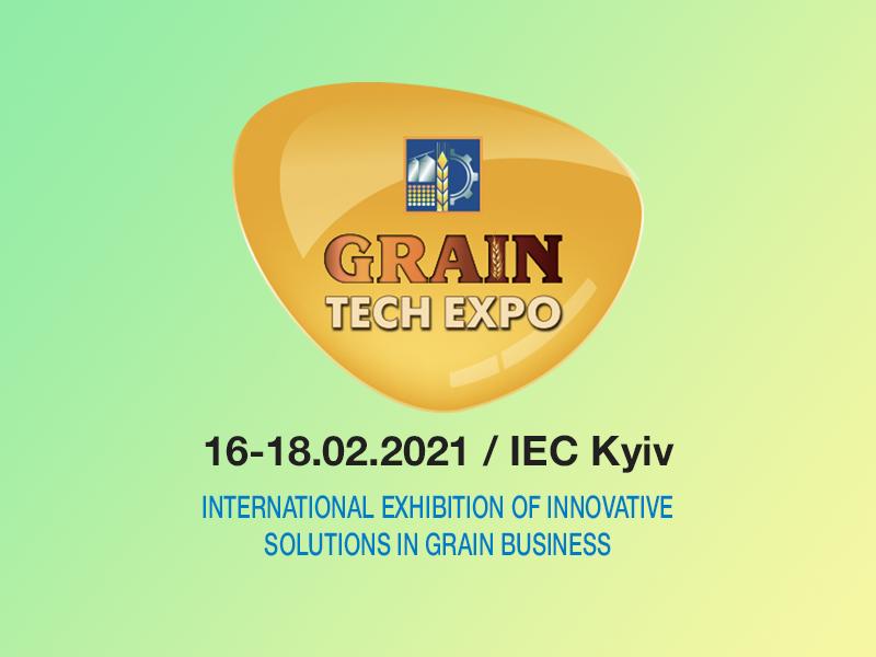 "Genç Değirmen at ""Grain Tech Expo"" Fair."