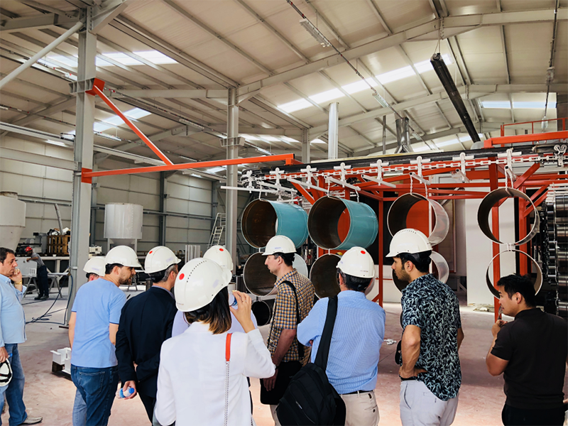 Kazakhistan Industry Development Center Visit.