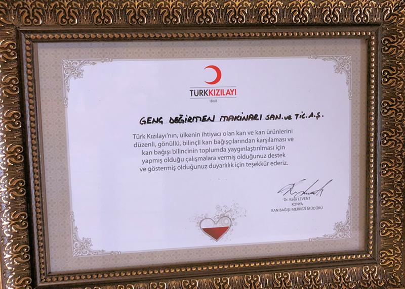 """""""Thanks"""" to Genç Değirmen from Kızılay."""