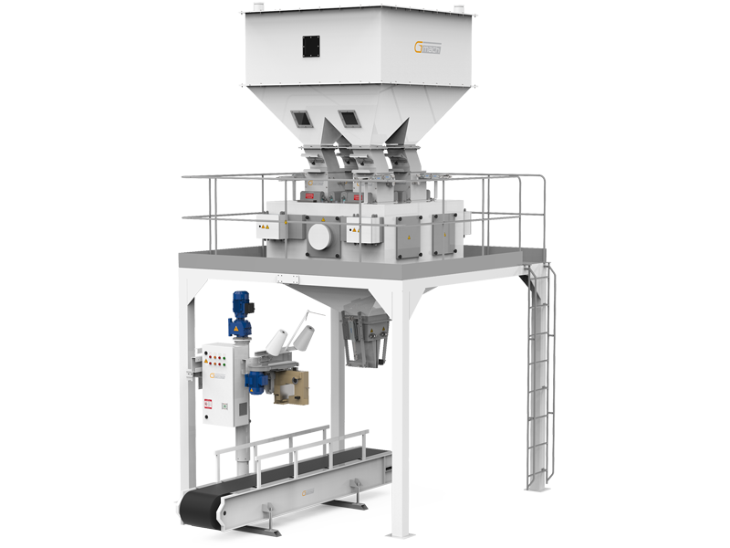 Pulses Packaging Machine With Four Weigh Hoppers & Single Station