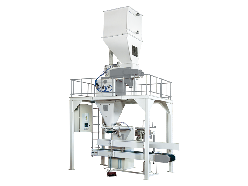 Bran Bagging Machine With Single Weigh Hopper & Single Station
